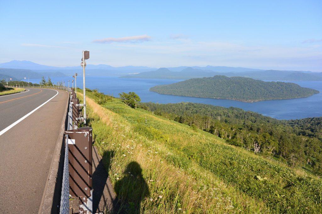 美幌峠からの眺め