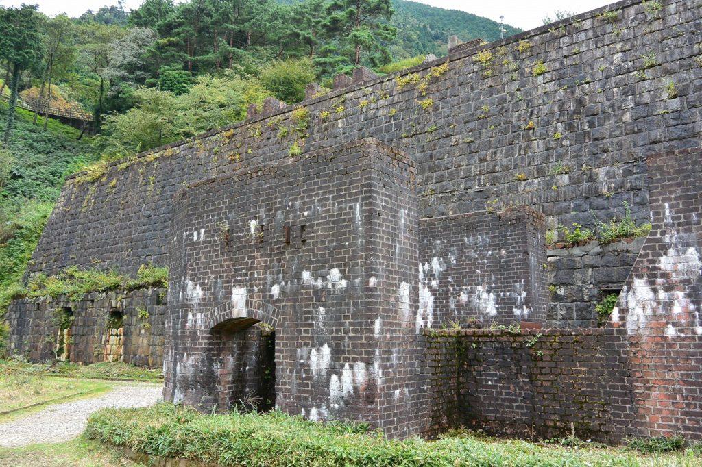 愛媛県の旧別子銅山跡
