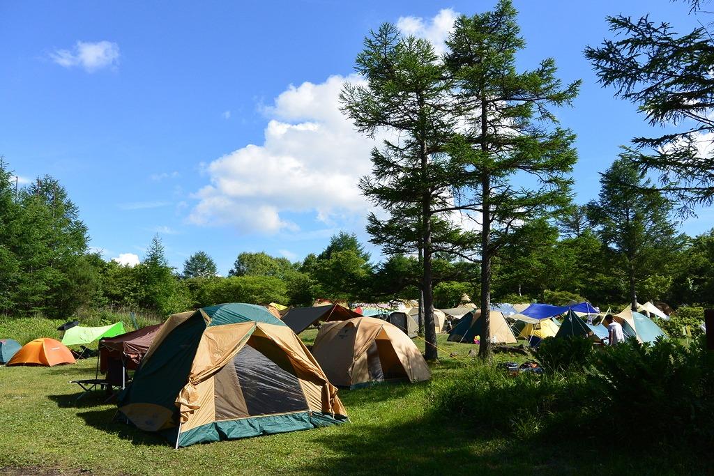 霧ヶ峰キャンプ場